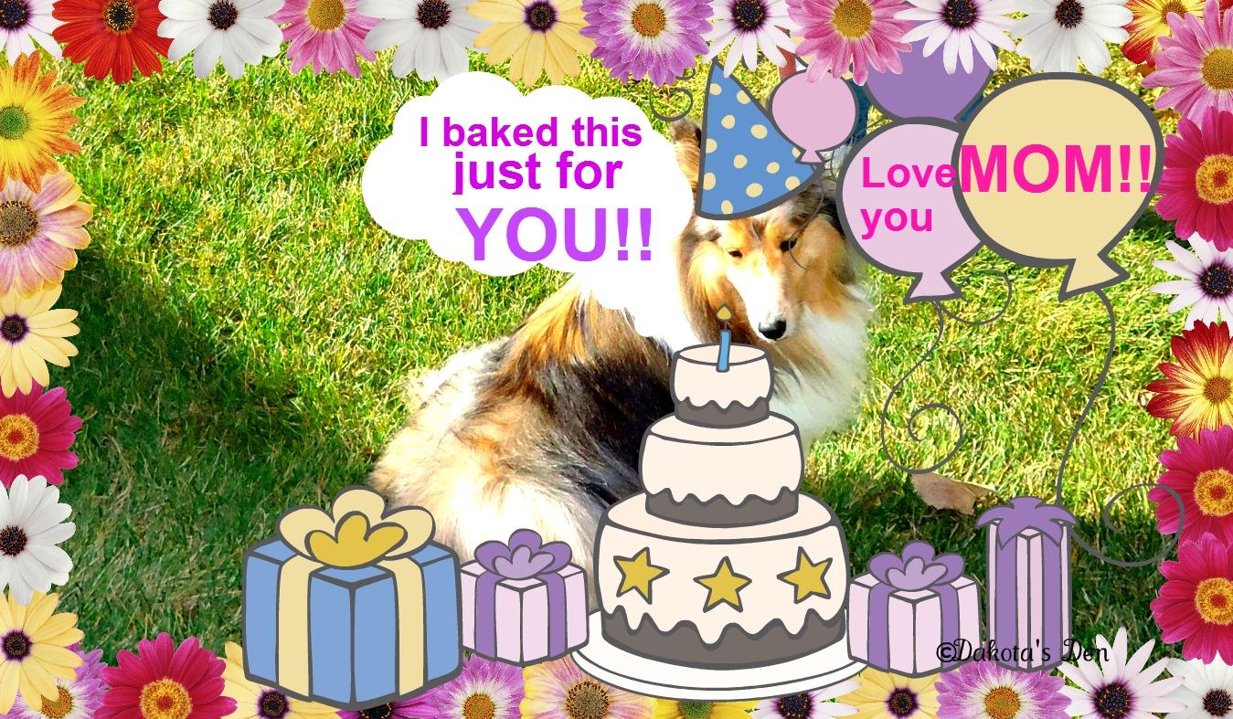 Birthday Greeting From The Dog Dakotas Den