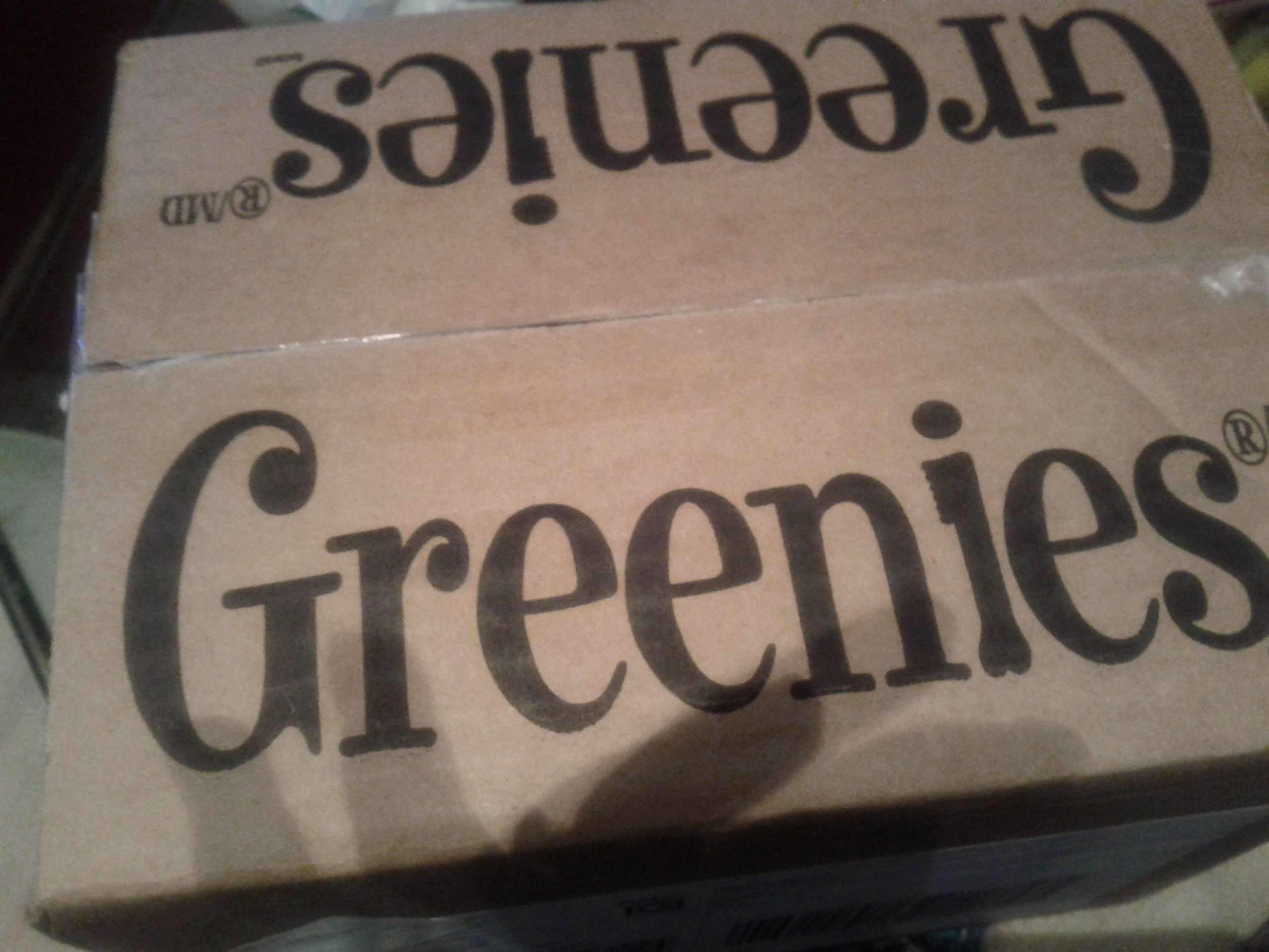 greenies in box