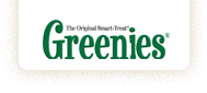 click on the photo to visit the Greenies website!