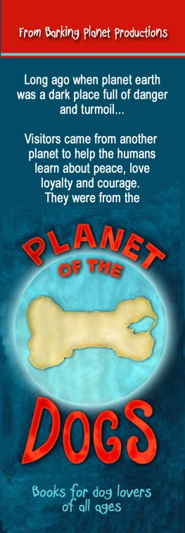 planet of the dogs bookmark