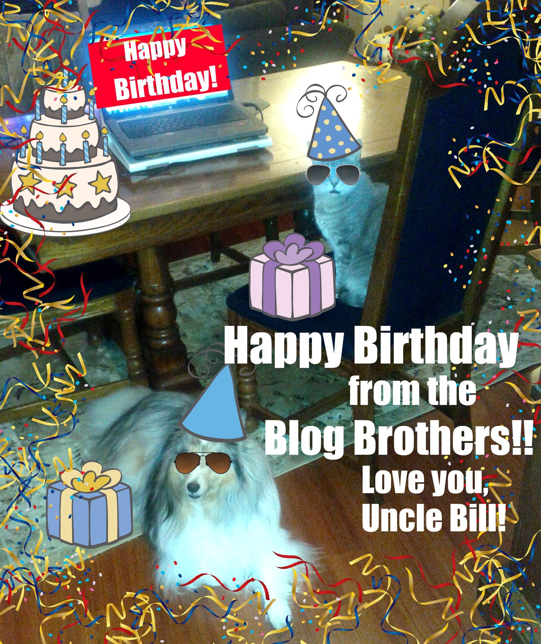 cody and dakota happy birthday uncle bill