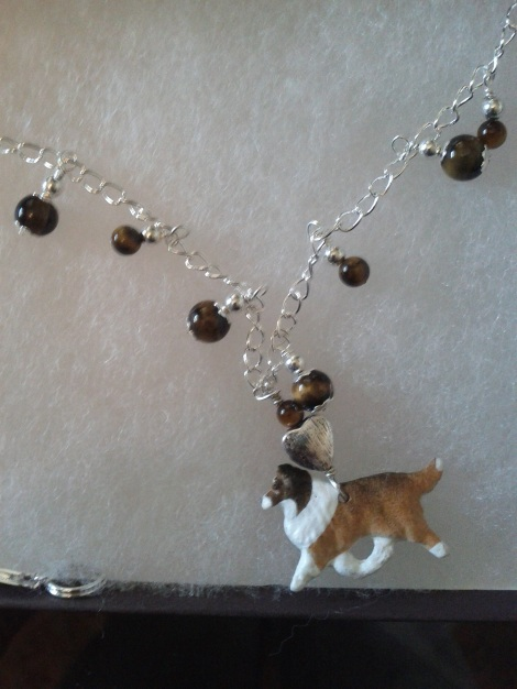 Yep I bought this breed specific necklace (along with some cat items but THIS is  a DOG blog!) I wore this necklace to BlogPaws 2011!