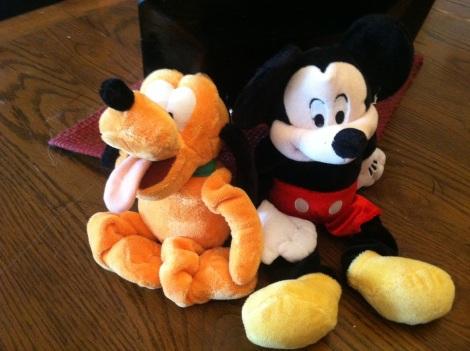 Disney toys close up great photo