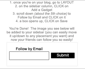 follow by email 2
