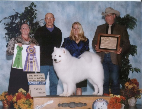 Jim's dog Riley, winning nationals