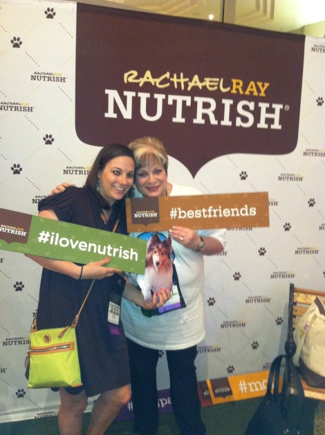 BlogPaws 2013 Alyson and I Nutrish