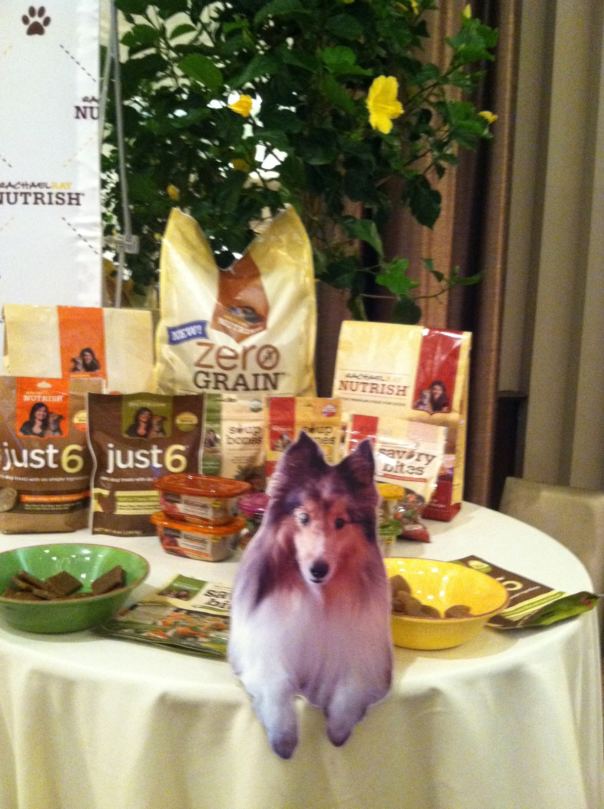 BlogPaws 2013 Dakota at Nutrish